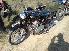 Royal Enfield Bullet 500 Diesel Militärmotorrad-Treffen Dolle