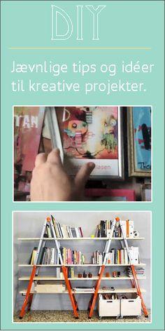 DIY - Jævnlige tips til kreative projekter hos billedkunstner Lone Søderberg