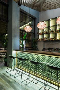 Studionoh, Dimitris Pavlou, cocktail, bar, shop, Athens, decoration, greek architecture, contemporary, interiors, exotic, plants, greenery, Panagiotis Baxevanis