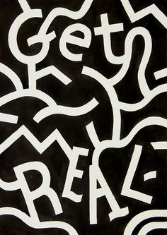 Get Real by Andy Rementer  Ink on Paper 12x16in Available at Making Excuses Art Show at B2 in Philadelphia