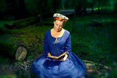 blue ewa walla dress madeleine lee