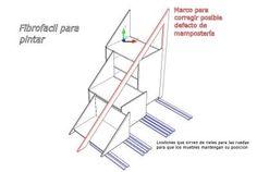 Mueble Solución para bajo escalera | La Carpinteria de Daniel