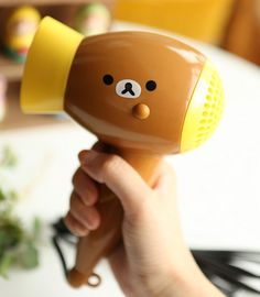 ♣ Yes, I want this adorable Rilakkuma blow dryer. Yes, I know I'm a grownup and no, you can't borrow it. Get your own, infant.