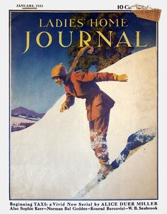 Ladies' Home Journal, January 1931 Maxfield Parrish