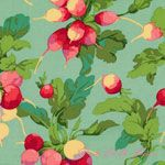 Martha Negley Market Mix Radish Aqua [WF-MN079-Aqua] - $10.95 : Pink Chalk Fabrics is your online source for modern quilting cottons and sewing patterns., Cloth, Pattern + Tool for Modern Sewists