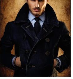 Very Italian. Love this coat.