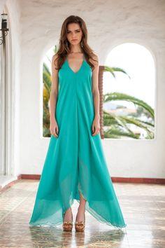 Silk chiffon blue dress.I really like the hem..it reminds me of a butterfly.Pretty shoes,too!