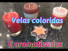 Como fazer velas coloridas e aromatizadas - YouTube Youtube, Make It Yourself