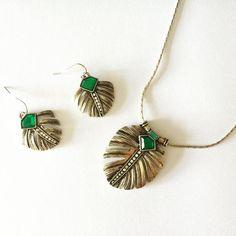 Lovely Jewelry Set on -http://ift.tt/1OOU5VT #stylish #jewelry #trendy #lovely #necklace #earrings #vintage