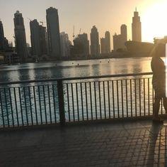 Beautiful sunset Dubai city at night Dubai City, Dubai Mall, Night City, United Arab Emirates, Beautiful Sunset, Shopping Mall, New York Skyline, World, Travel