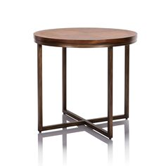 The Palm Beach Side Table, featuring industrial metal base and rich timber top, helps create a welcoming interior with plenty of earnest charisma.