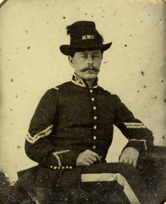 Corporal Thomas R. Stacey, Montgomery Mounted Rifles, C.S.A. :: Alabama Photographs and Pictures Collection