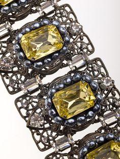 Lawrence Vrba Bracelet Set by TresorDeVintage on Etsy, $712.50
