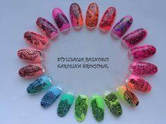 Nail Art Wheel, Mandala Nails, Nails Only, Nail Patterns, Nail Studio, Chrome Nails, Cool Nail Designs, Nail Tutorials, Nail Stamping