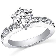 5.5mm/1ct Princess Cut Asha Engagement Ring