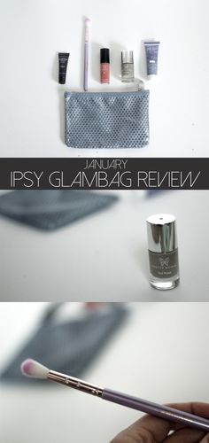 Comprehensive review of the January Ipsy Glam Bag. I love this subscription company!
