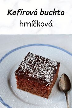 Slovak Recipes, Czech Recipes, Sweets Cake, Kefir, Desert Recipes, Food Dishes, Deserts, Food And Drink, Meals