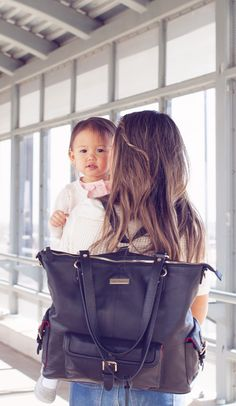 One-on-one time with mommy is only made sweeter when mama's hands are free for snuggles! Lily Jade diaper bags help to do just that! Not only are they beautifully crafted from premium full grain leather, they feature over 16 pockets (!!) and can be carried over the shoulder or as a backpack! Click to browse our full selection of designer diaper bags!