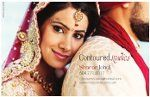 Love, love the fresh look of this indian bride. Makeup by Contoured Studios and Photo Amish Solanki; AS Photo.