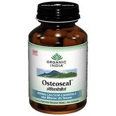 ORGANIC INDIA Osteoseal 60/ 250 Capsules Bottle Organic Supplements #ORGANICINDIA