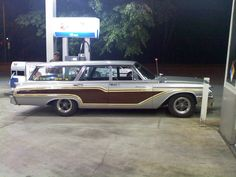Just like Dad's old station wagon