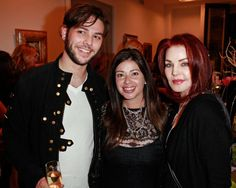 Nola Singer jewelry launch with Priscilla Presley, Amy Smart