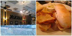 Nonna's Italian Kitchen - Panelle Sandwich  l  Christmas in Michigan  l  Love.Bake.Read