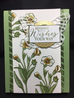 STAMPIN up butterfly basics card