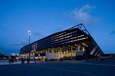 Swedbank Stadium  C.F. Møller. Photo: Torben Eskerod