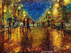 iris scott 72 A Touch of Paint – Fingerpaintings by Iris Scott