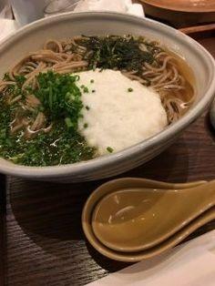 岩田屋の若竹で食べたとろろそば ここはお蕎麦も美味しくてよく食べます  岩田屋だとレストランフロアにある10割蕎麦の素屋もおすすめです tags[福岡県]
