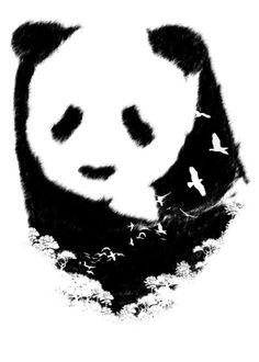 Spirit of Forest Art Print by tobefonseca Forest Art, Collage, Spirit, Art Prints, Drawings, Panda Bears, Illustration, Artwork, Squirrels