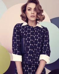 50s, fashion, 1950s, vintage, polka dot, pastell, 50s fashion, hair, hairstyle Photo: Tomas Falmer/LundLund