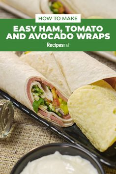 15 mins. · Serves 3 · This healthy and Easy Ham, Tomato, and Avocado Wraps is the perfect finger food! Serve it for lunch this summer with this recipe. #Recipes #Food #Crave #Tasty #Yummy #Delicious #FoodTrip #FoodLover #Recipes.net #foodporn #Cook #Cooking #Foodie #foodblog #homemade #summerrlunchrecipe Avocado Wrap, Wrap Recipes, Meals For One, Finger Food, Tasty Dishes, Ham, Cravings, Main Dishes, Food Porn