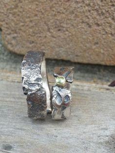 Wedding rings. Silver.  Made by Idylliz.