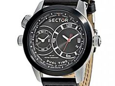 Relógio Masculino Sector Oversize Dual Time - WS31777P Analógico Resistente á Àgua