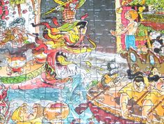 China Town (artist - Hugo Prades) by Heye, 2000 pieces (2004)