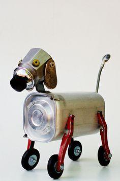 (2013-12) Robot dog assemblage