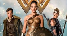 A new international poster for the upcoming DC Extended Universe film 'Wonder Woman' finds Diana accompanied by Steve Trevor and General Antiope.