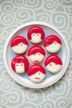 """ιδεες για παιδικο μπουφε - τυροφατσουλες 6 Made with """"baby cheeses"""""""