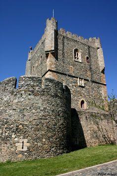 Torre da Princesa e Torre de Menagem, Bragança. Copyright: Filipe Araujo