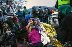 A Syrian woman hugs her mother after their arrival with other refugees and migrants from the Turkish coast to Mytilene, Lesbos island, Greece today Calais Jungle, Greece Today, Twitter, Refugee Crisis, Photo Report, Most Powerful, Greek Islands, The Past, Coast