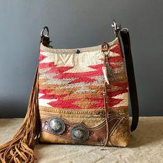 "366 Likes, 8 Comments - Judy Augur (@jaugurdesign) on Instagram: ""Today's bag. #jaugurdesign #navajobucket #fringedbag #mondaysbag #studioshot #handcrafted…"""