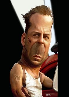 Image detail for -Bruce Willis Caricature. Cartoon Faces, Funny Faces, Cartoon Art, Cartoon Characters, Funny Caricatures, Celebrity Caricatures, Celebrity Drawings, Celebrity Pictures, Bruce Willis