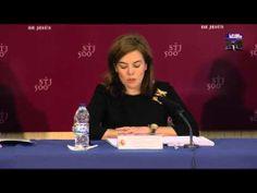 Soraya Sáenz de Santamaría habla sobre Teresa de Jesús