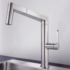 ステンレスシングルレバー混合栓 / キッチン用 / 1 つ PANERA-S BLANCO GmbH + Co KG