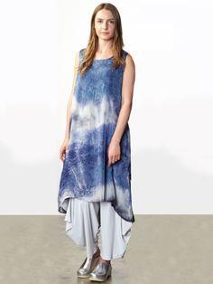 84a6e383186 Louie Dress by BRYN WALKER Tie Dye Dress