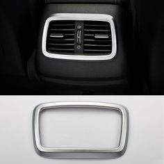 2016 Car Styling ABS Rear Outlet Decorative Frame Cover Sequin Chrome Trim Decoration For Kia Sorento 2015-2016
