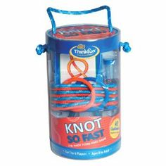 ThinkFun Knot So Fast knot tying game