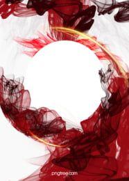 Atmospheric Background Red Ink Smudges